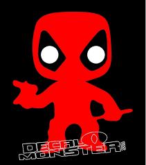 Deadpool 4 Decal Sticker Decal Max