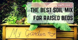 vegetable garden soil mix autoiq co