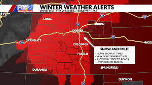 Oh Snow! Winter storm warning in effect ...