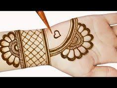 Easy Easy Beautiful Simple Mehndi Design