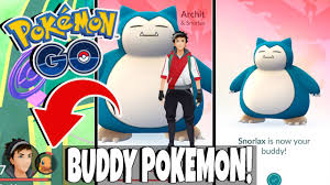 Pokemon GO UPDATE! BUDDY POKEMON!! Easy Pokemon Candies By Walking ...