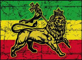 Rasta Flag Lion Window Sticker Decal Peace Resource Project