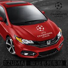 Buy Reflective Car Stickers Car Bonnet Hood Stickers In The Champions League Soccer Team Barcelona Bayern Car Foil Stickers Car Door Stickers Affixed To The Body In Cheap Price On M Alibaba Com