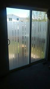 sliding glass door privacy no curtains