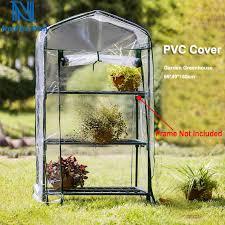 garden greenhouse pvc cover plants grow