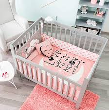 hot er moon and stars crib bedding