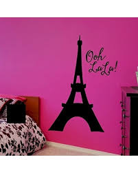 Great Deal On Eiffel Tower Wall Decal Ooh La La Decor Over 30 Colors And 5 Different Sizes To Choose From