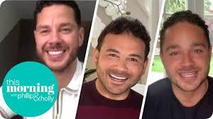 Adam, Ryan and Scott Thomas in Lockdown | This Morning - YouTube