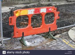 Plastic Safety Fence High Resolution Stock Photography And Images Alamy