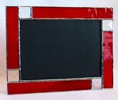 made to order ruby red stained glass