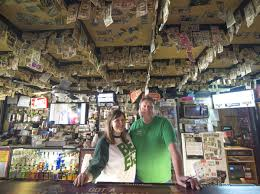 Patrons of Norfolk bar leave cash on the ceiling   State ...