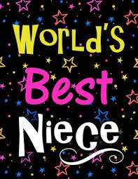 world s best niece large notebook for
