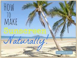homemade sunscreen a simple natural