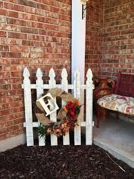 Shabby Chic Picket Fence Decor Picket Fence Decor Picket Fence Crafts Fence Decor