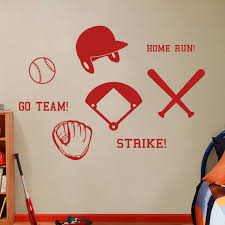 Shop Large Baseball Wall Decals Set On Sale Overstock 10808790