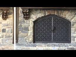 fireplace doors gates
