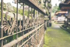 What Should You Do If You Spot Corrosion On Your Wrought Iron Fence