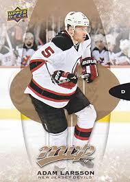 2016-17 Upper Deck MVP Hockey #107 Adam Larsson New Jersey Devils ...