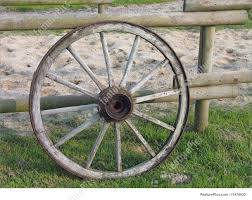 Old Wagon Wheel Stock Picture I1474632 At Featurepics