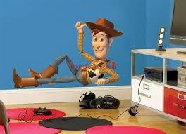 Huge Woody Chillin Toy Story Movie Decal Removable Wall Sticker Cartoon Room Decoracion Cuarto Nino Habitaciones Infantiles Decoraciones De Disney