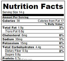 cream cheese cookies nutrition facts