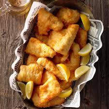Lemon-Batter Fish Recipe