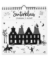 Sinterklaas Aftelkalender En Doe Boek Bijzonder Design Store