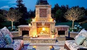 backyard fireplaces fab prefabs