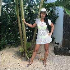 Pics! Wendy Parker Shows Off Her Bikini Body On Vacation - OkMzansi