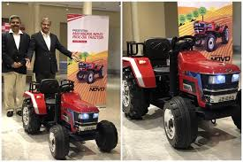 mahindra toy ride on tractor electric