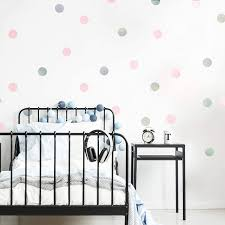 Wallpops Wpd2137 Rose Gold Confetti Dot Decals Metallic Amazon Com