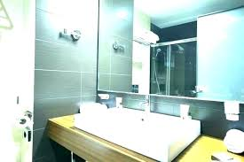 large beveled wall mirrors bathroom