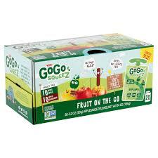 gogo squeez applesauce apple apple