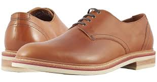 allen edmonds leather nomad derby tan