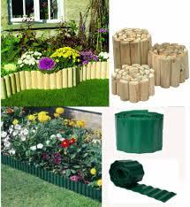 Log Panel Edging Garden Border Edge Grass 225mm Fixed For Sale Ebay