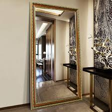 wall mounted mirrors floor standing