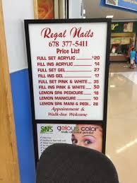 regal nails 630 collins hill rd