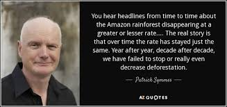 patrick symmes quote you hear headlines from time to time about