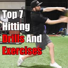 top 7 hitting drills and exercises