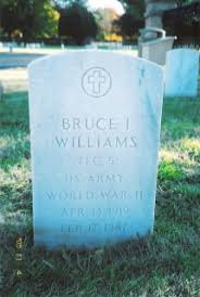 Bruce Iva Williams (1919-1987) - Find A Grave Memorial