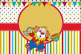 El Circo Invitaciones Y Etiquetas Para Candy Bar Para Imprimir