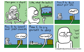 stupid game completelyseriouscomics