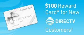 reward card for new directv customers