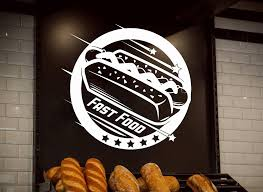 Fast Food Logo Wall Decal Cafe Hot Dog Shop Wall Window Decor Vinyl Sticker Removable Modern Poster Wallpaper D623 Buy At The Price Of 7 98 In Aliexpress Com Imall Com