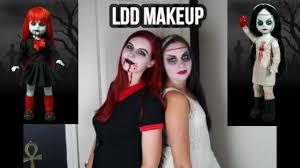 living dead doll makeup timelapse you
