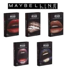 studio python metallic lip kit makeup