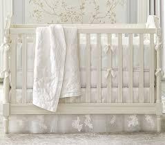 monique lhuillier ivory crib bedding