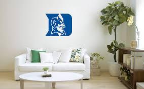Amazon Com Duke Blue Devils Basketball 22 X 26 Team Logo Original Sports Vinyl Decor Living Room Fan Art Decal Wall Decal Garage Man Cave Home Kitchen