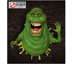Hcg Ghostbusters Slimer Lifesize Wall Sculpture Figures Com