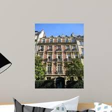Parisian Building Wall Decal Wallmonkeys Com
